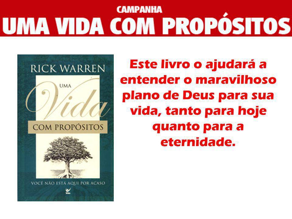 Este livro o ajudará a entender o maravilhoso plano de Deus para sua vida, tanto para hoje quanto para a eternidade.