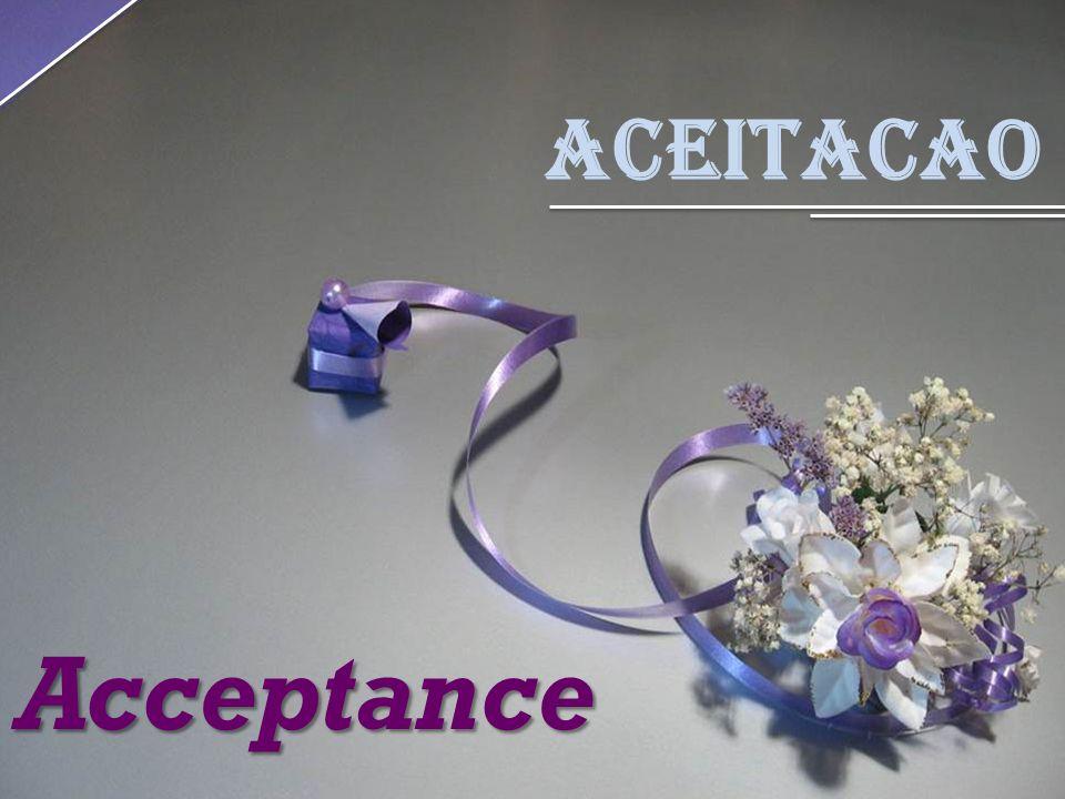 Aceitacao Acceptance