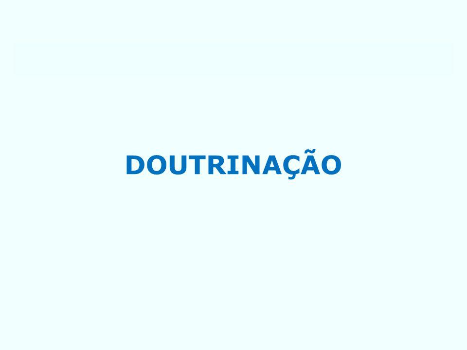 DOUTRINAÇÃO
