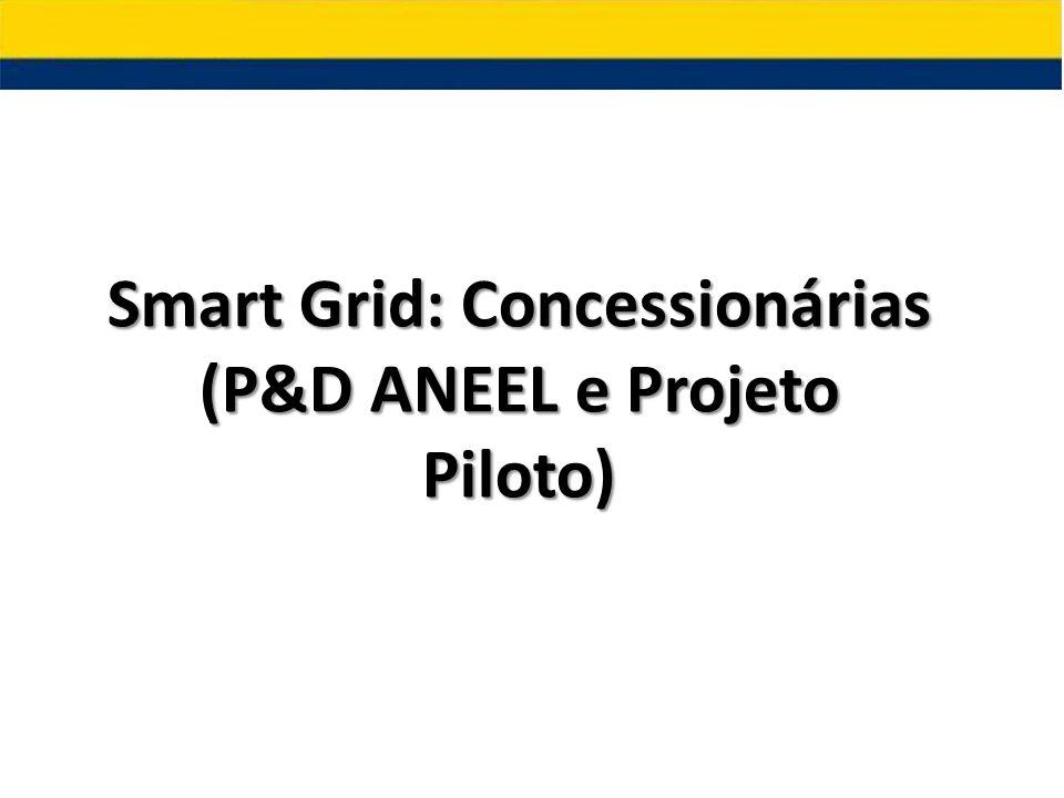 Smart Grid: Concessionárias (P&D ANEEL e Projeto Piloto)