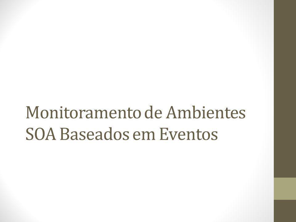 Monitoramento de Ambientes SOA Baseados em Eventos
