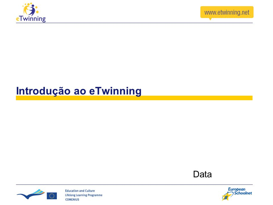 Introdução ao eTwinning Data