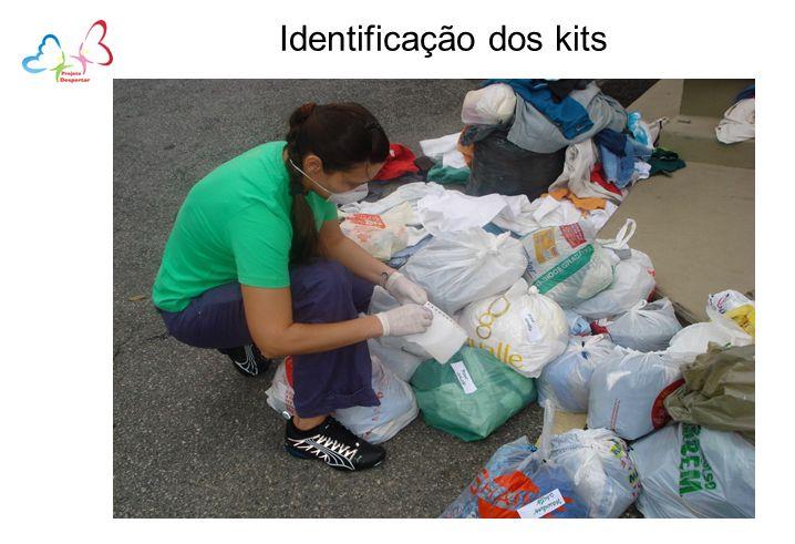 Identificação dos kits