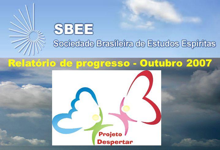 Relatório de progresso - Outubro 2007