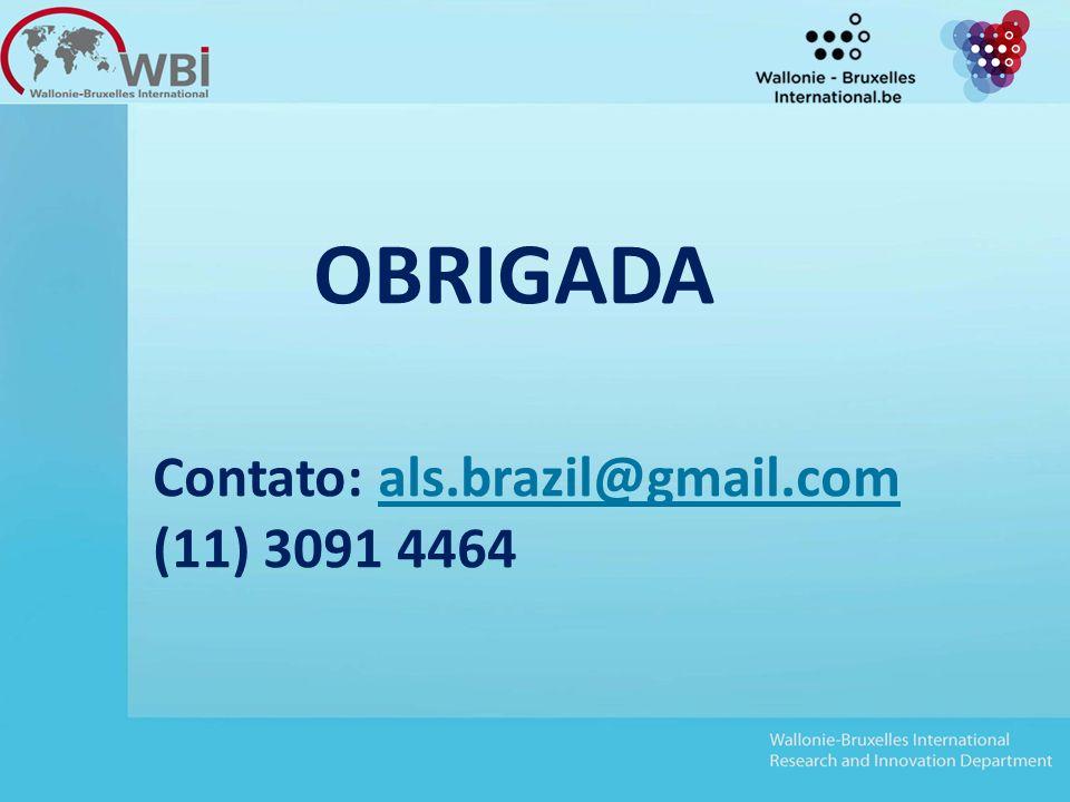 OBRIGADA Contato: als.brazil@gmail.comals.brazil@gmail.com (11) 3091 4464