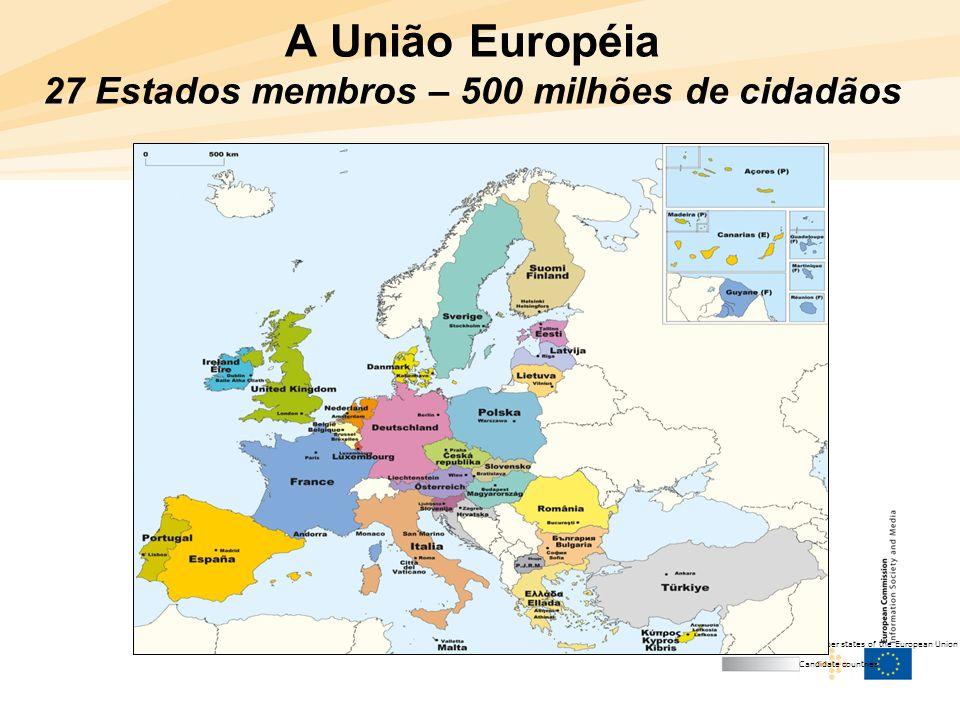 4 Agenda Digital Europeia  Aprovada pela Comissão Europeia em Mai/10 após amplo processo (2 anos) de preparação e consulta pública com objetivo de: –dar um contributo significativo para o crescimento económico da UE –distribuir os benefícios da era digital por todos os estratos da sociedade  Enumera 7 domínios prioritários de ação e prevê cerca de 100 medidas de acompanhamento ao nível da UE, 31 das quais de caráter legislativo