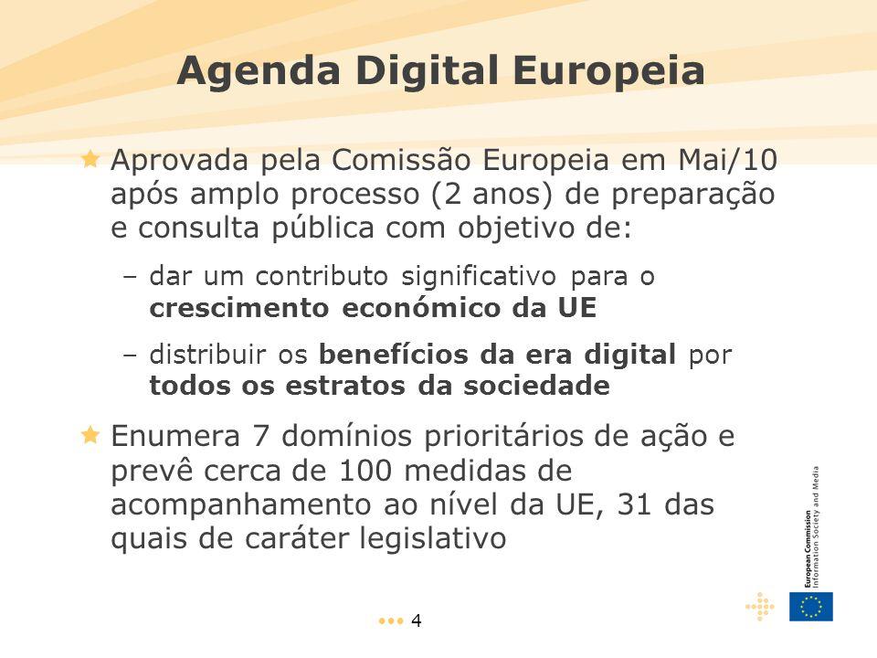 15 Estado da transição para a TV Digital na UE  Quanto antes se efetuar a transição para a TV digital, mais cedo os benefícios do dividendo digital serão aproveitados  A transição para a TV digital encontra-se bastante avançada na União Europeia  A maioria dos Estados-membros da UE já fizeram o apagão da TV analógica
