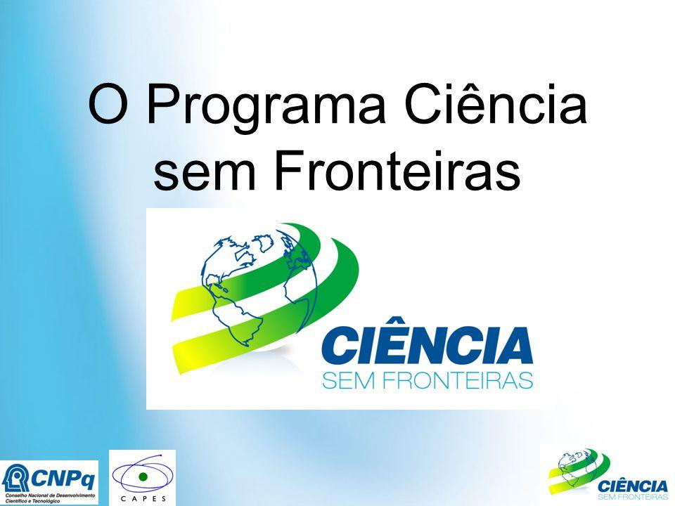 O Programa Ciência sem Fronteiras