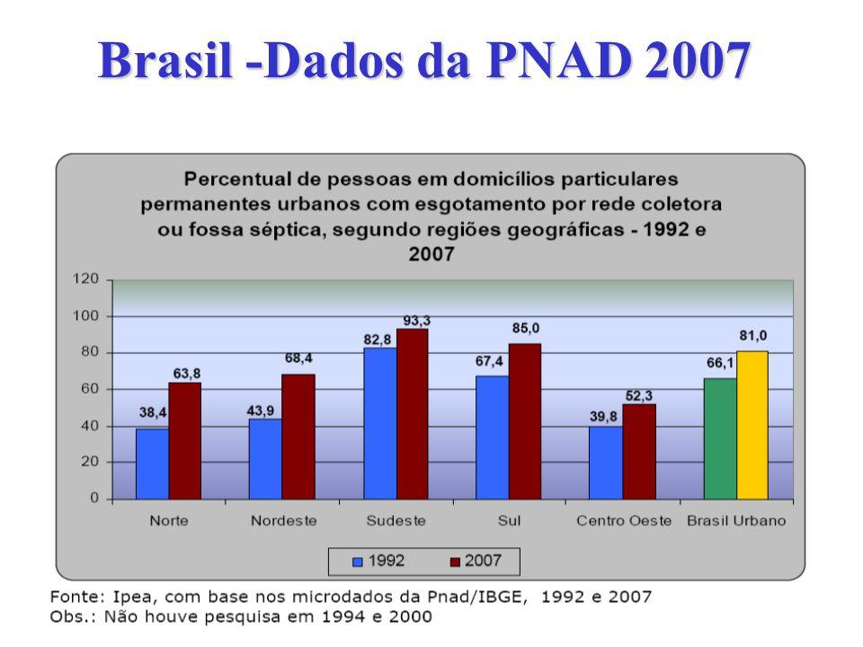 Brasil -Dados da PNAD 2007