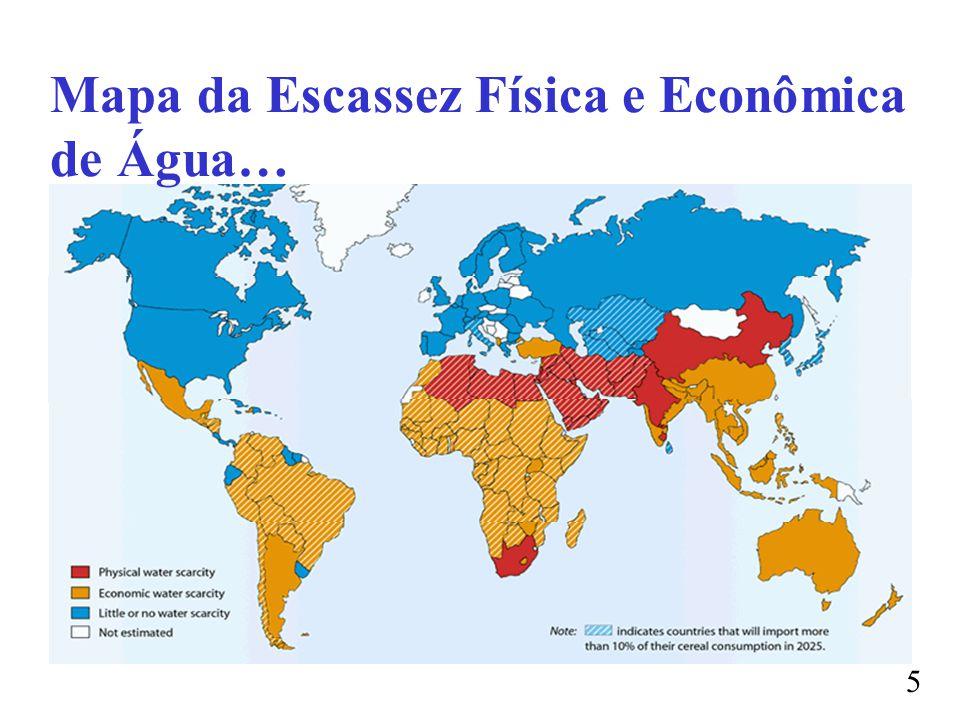 Mapa da Escassez Física e Econômica de Água… 5