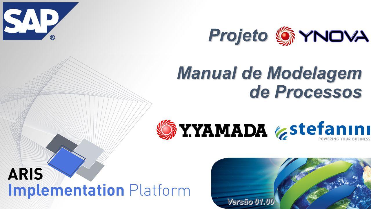 Versão 01.00 Projeto YNOVA Manual de Modelagem de Processos Projeto YNOVA Manual de Modelagem de Processos