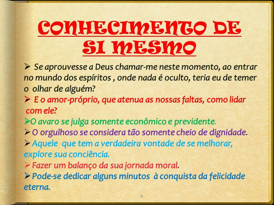 9 CONHECIMENTO DE SI MESMO