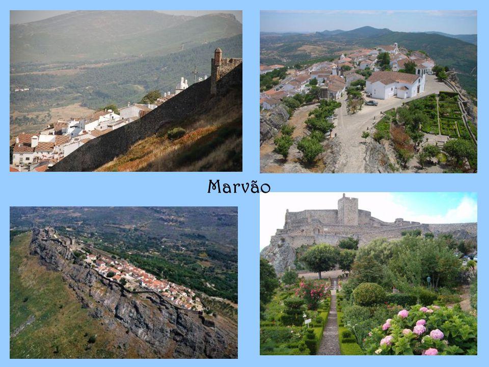 O concelho de Marvão situa-se na vertente Norte da Serra de S.