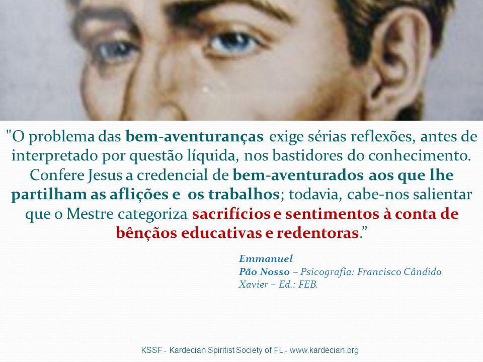 Deus leva em conta as gradações na responsabilidade dos atos e pensamentos do homem KSSF - Kardecian Spiritist Society of FL - www.kardecian.org17