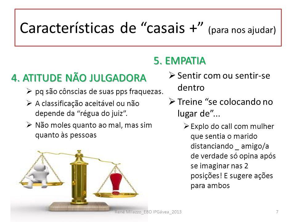 """4. ATITUDE NÃO JULGADORA  pq são cônscias de suas pps fraquezas.  A classificação aceitável ou não depende da """"régua do juiz"""".  Não moles quanto ao"""