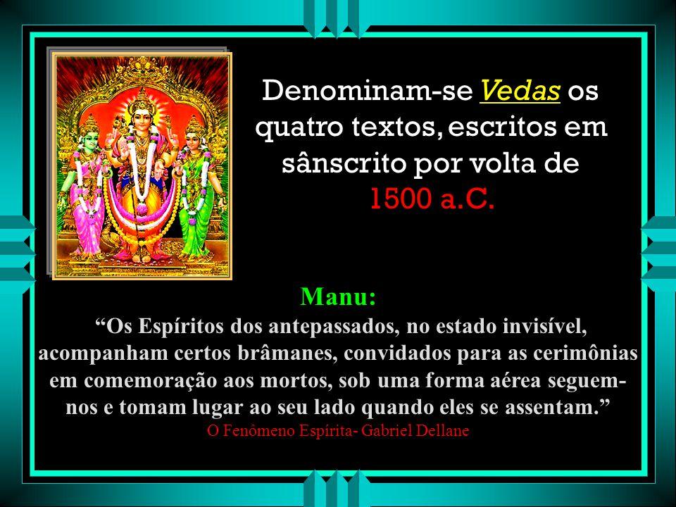 """""""As crenças na imortalidade da alma e nas comunicações entre os vivos e os mortos eram gerais entre os povos da antiguidade,porém restritos aos sacerd"""