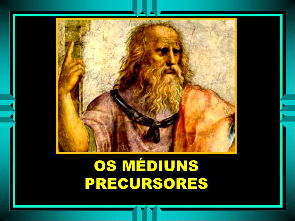 GRÉCIA – Crença nas evocações era geral. Templos Templos – pitonisas encarregadas de receber os oráculos evocando os deuses. ROMANOS ROMANOS – Prática