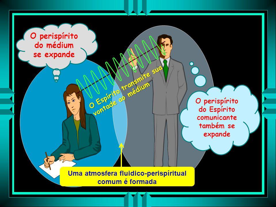 """O PAPEL EXERCIDO PELO PERISPÍRITO """"Nas comunicações mediúnicas desempenha papel fundamental por ser o órgão de transmissão de todas as sensações Quand"""