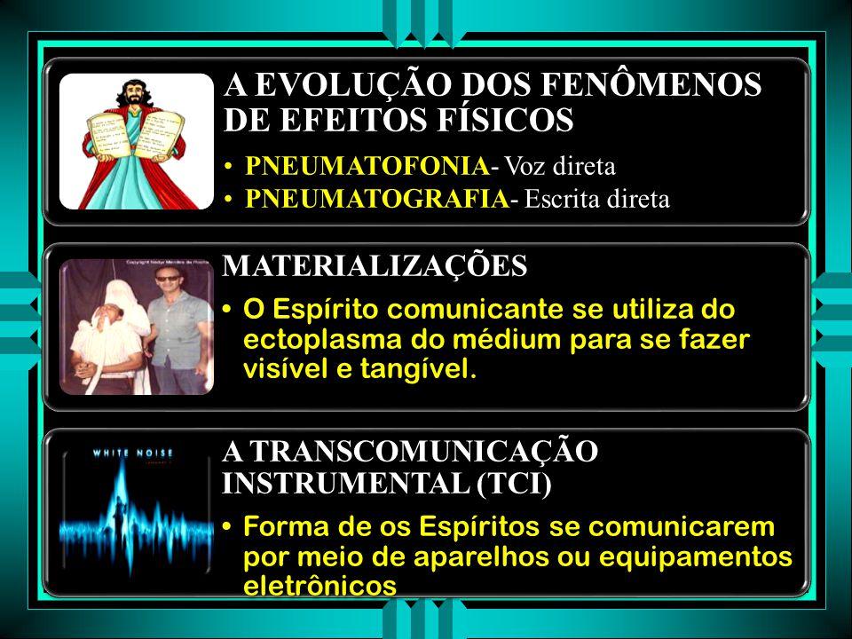 OS RAPS Kardec batiza os ruídos que aconteciam no interior da madeira de typtologie intime Kardec batiza os ruídos que aconteciam no interior da madeira de typtologie intime Os ruídos expressavam também a emoção do Espírito que o produziaOs ruídos expressavam também a emoção do Espírito que o produzia O MOVIMENTO DE OBJETOS O fenômeno das mesas girantes foi uma evolução da comunicação dos ruídos transcendentesO fenômeno das mesas girantes foi uma evolução da comunicação dos ruídos transcendentes A PSICOGRAFIA A evolução das formas de intercâmbio foram em direção a escrita pelos espíritos, utilizando o lápis e o papel