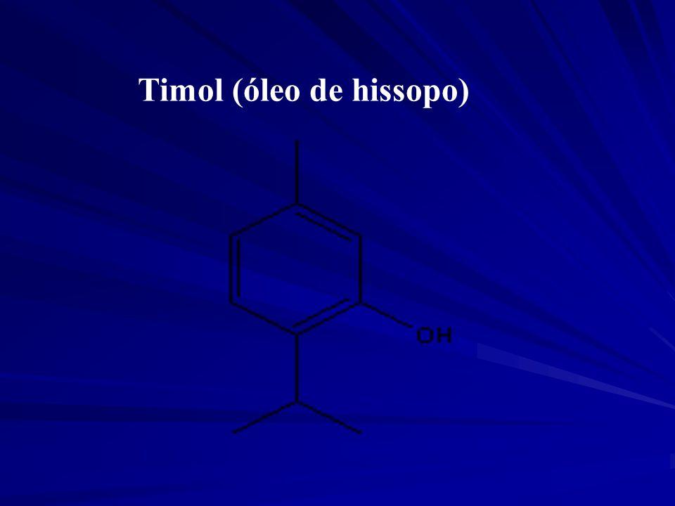 Timol (óleo de hissopo)