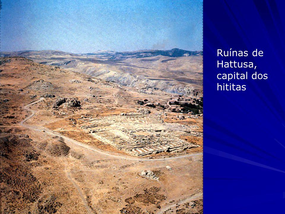 Ruínas de Hattusa, capital dos hititas