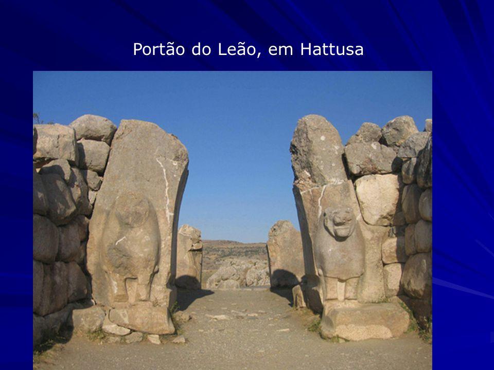 Portão do Leão, em Hattusa