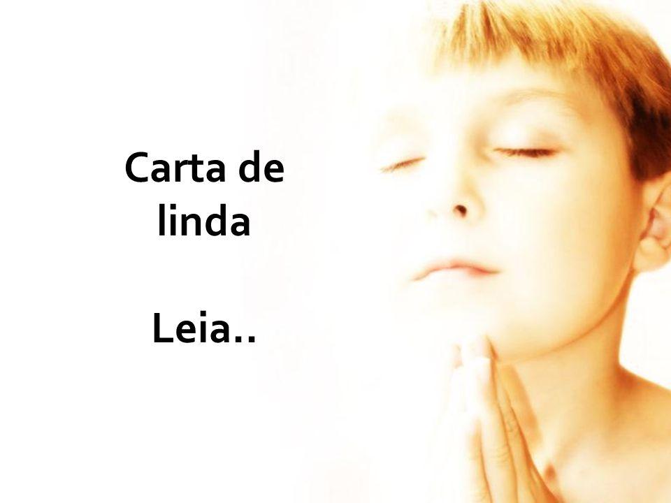Carta de linda Leia..