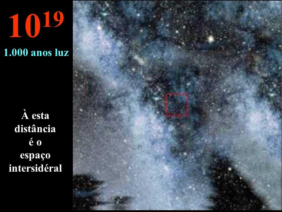 Nada outro que as nebulosas da Via Láctea 10 18 100 anos luz