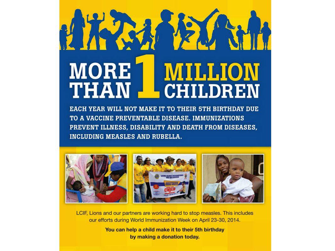 E) Todas as opções acima Um dos desafios na luta contra o sarampo, bem como para a imunização em geral, é que você não pode desistir.