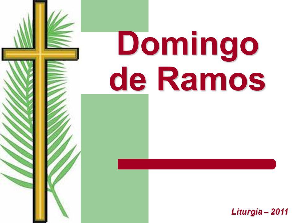 Domingo de Ramos Liturgia – 2011