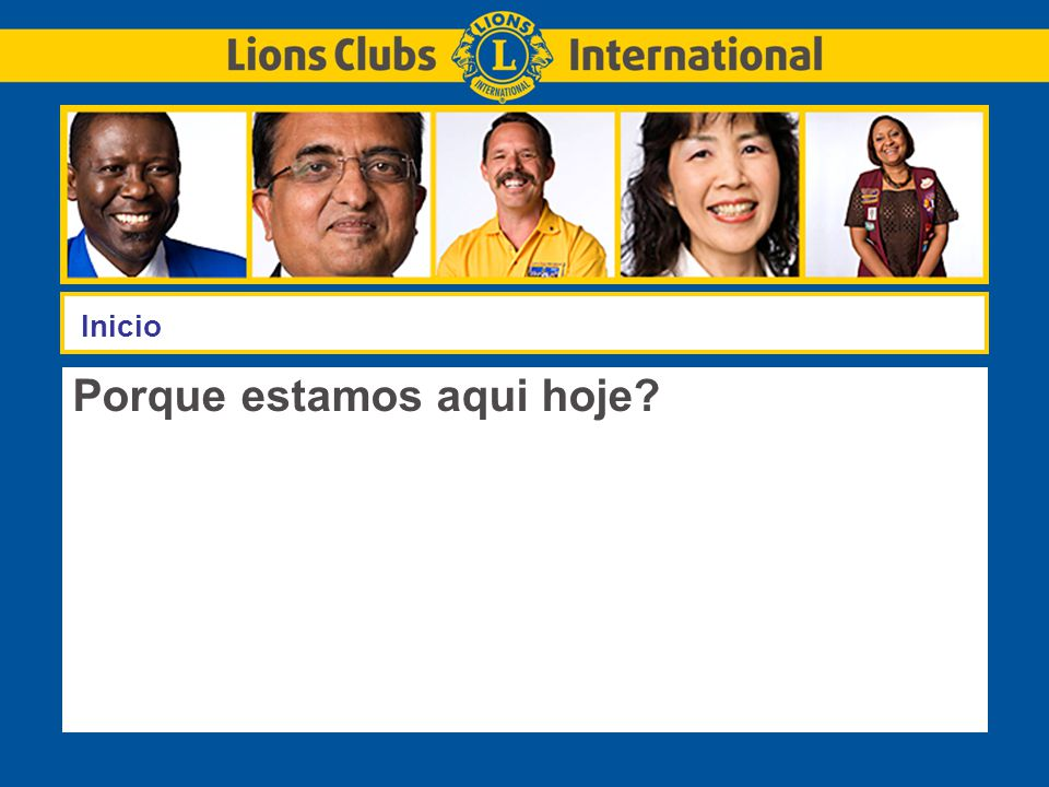 LIONS CLUBS INTERNATIONALTITLE OF PRESENTATION 22  Necessitamos líderes com conhecimento para desempenhar bem a função de dirigentes de LCI.