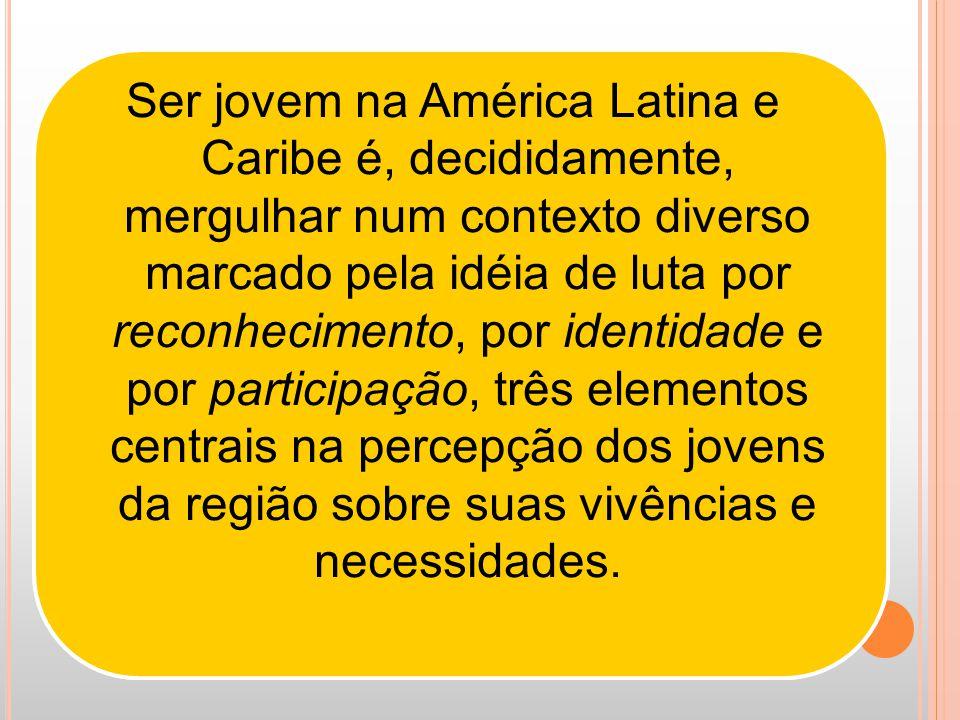 O problema (do extermínio de jovens) já tomou um ponto tão grave que já há um déficit de jovens do sexo masculino na estrutura demográfica brasileira.