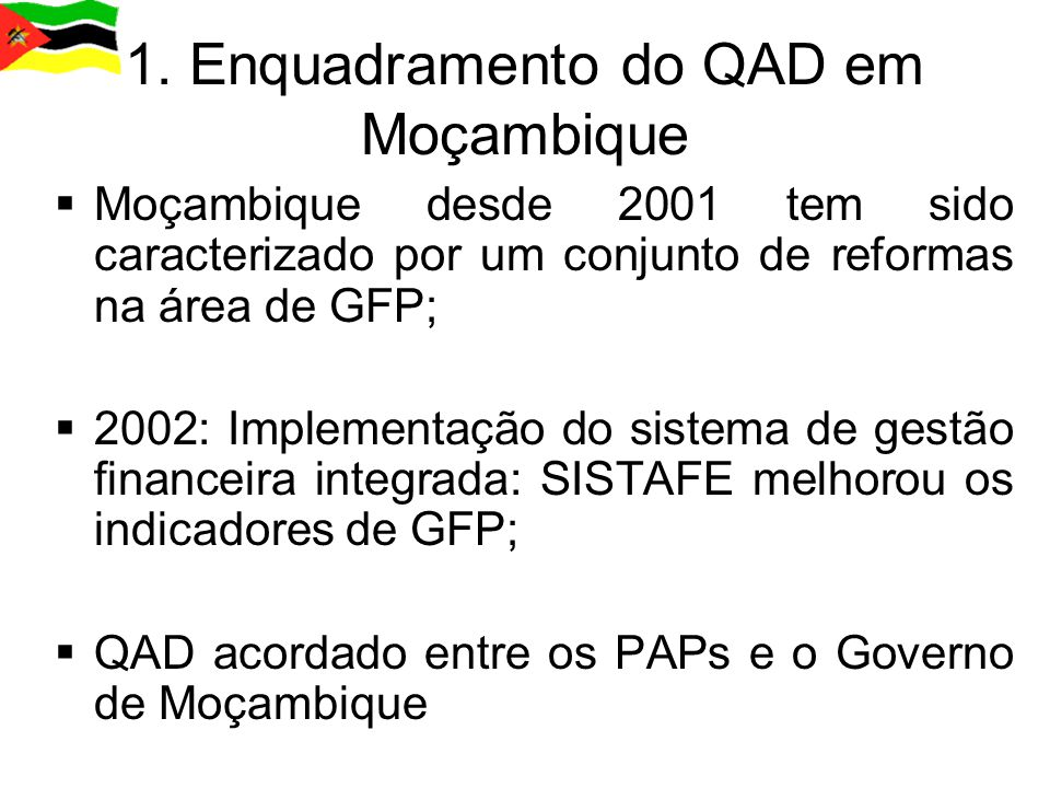 5.Matriz de Indicadores do QAD
