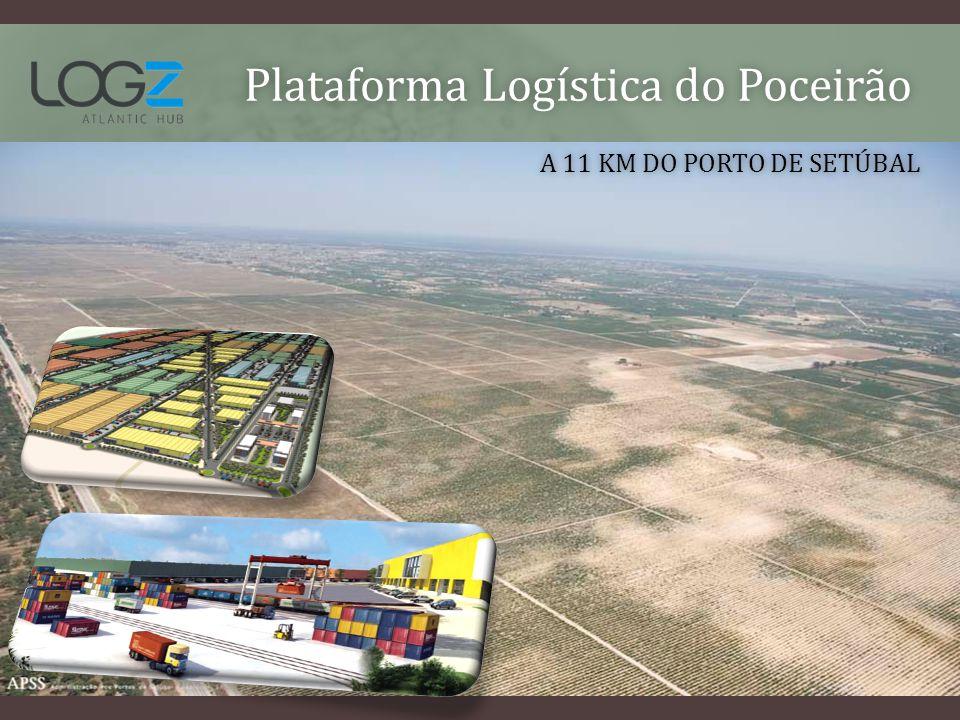 Plataforma Logística do PoceirãoPlataforma Logística do Poceirão A 11 KM DO PORTO DE SETÚBALA 11 KM DO PORTO DE SETÚBAL