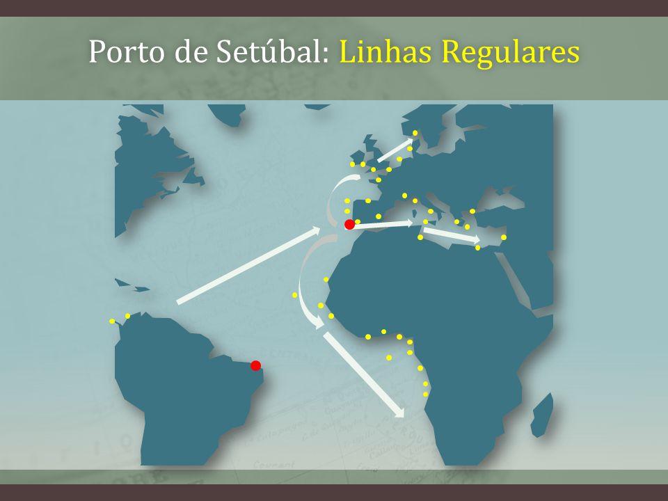 Porto de Setúbal: Linhas RegularesPorto de Setúbal: Linhas Regulares