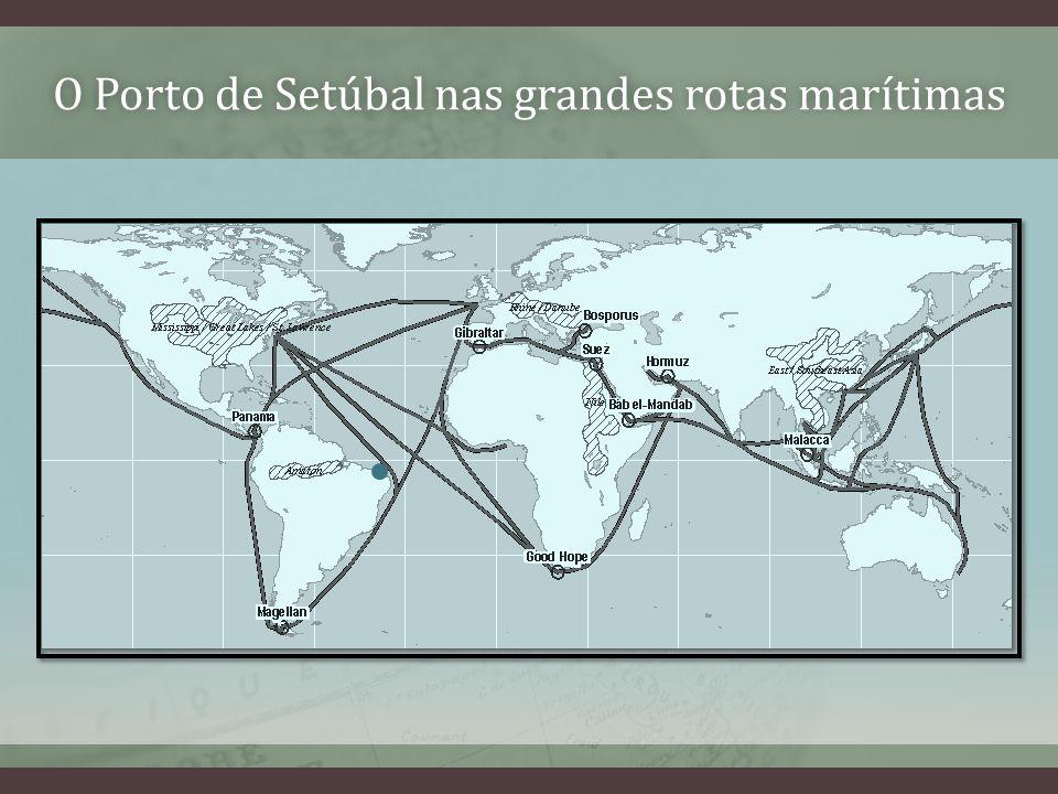 O Porto de Setúbal nas grandes rotas marítimasO Porto de Setúbal nas grandes rotas marítimas