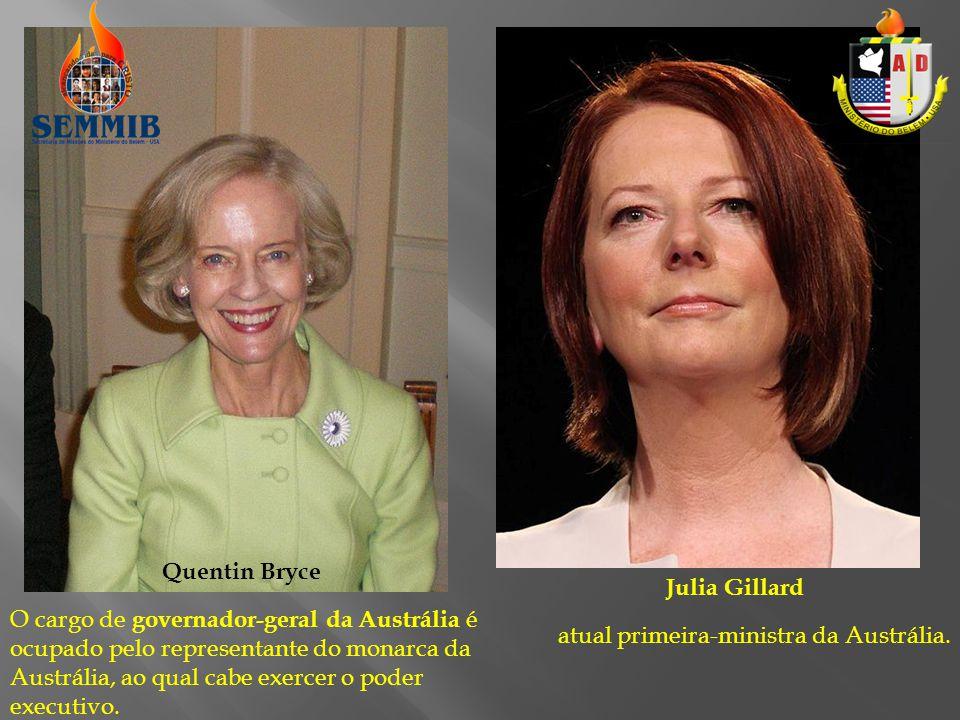 O cargo de governador-geral da Austrália é ocupado pelo representante do monarca da Austrália, ao qual cabe exercer o poder executivo.