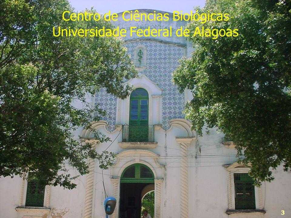 3 Centro de Ciências Biológicas Universidade Federal de Alagoas 3
