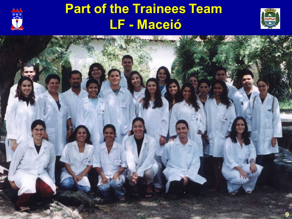 9 Part of the Trainees Team LF - Maceió LF - Maceió 9
