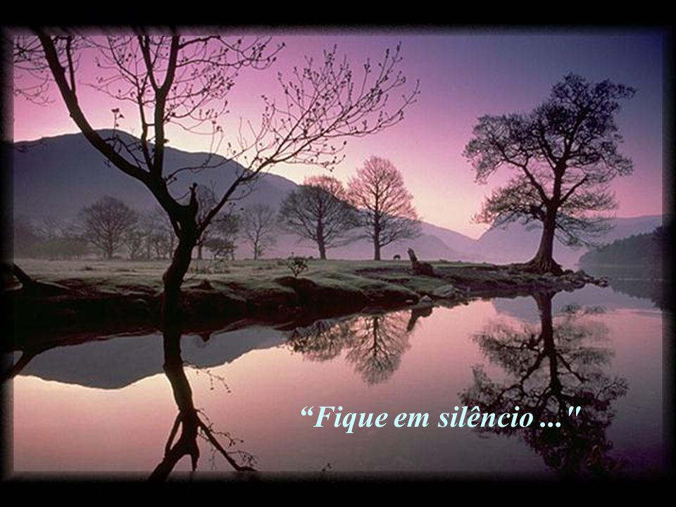 """""""Fique em silêncio perante o Senhor..."""