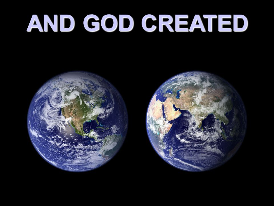 God created the earth And placed His Children on the Earth to Love Him and One another.