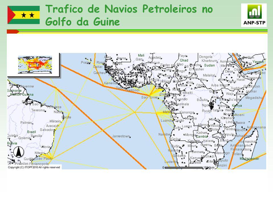 Trafico de Navios Petroleiros no Golfo da Guine