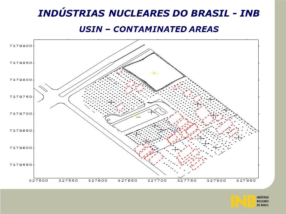 INDÚSTRIAS NUCLEARES DO BRASIL - INB USIN – CONTAMINATED AREAS