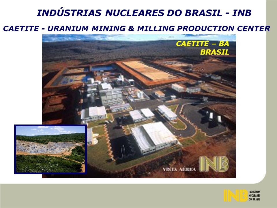 RENOVATED WAREHOUSE DEMOLISHED BUILDING INDÚSTRIAS NUCLEARES DO BRASIL - INB USIN – STORAGE RW AND NON RW (FROM 1996)