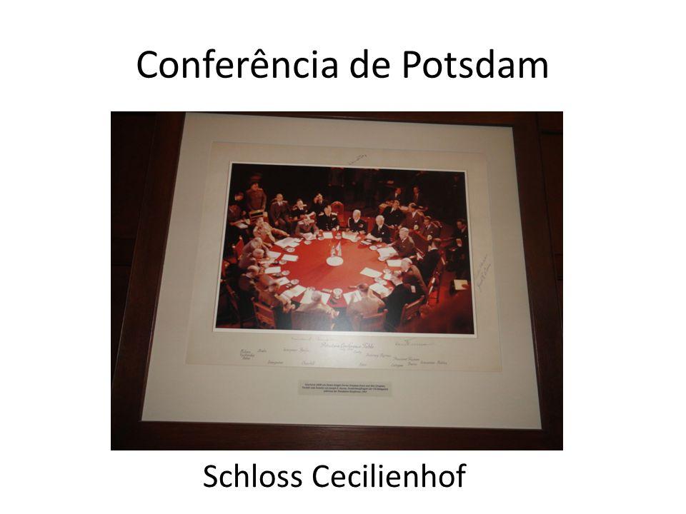 Conferência de Potsdam Schloss Cecilienhof