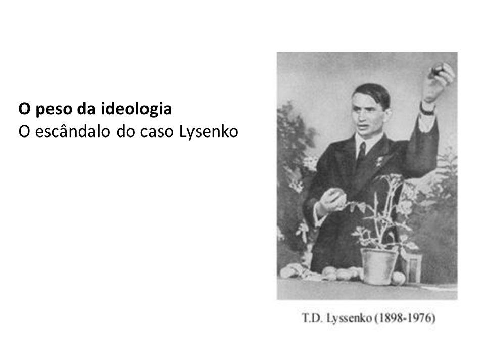O peso da ideologia O escândalo do caso Lysenko