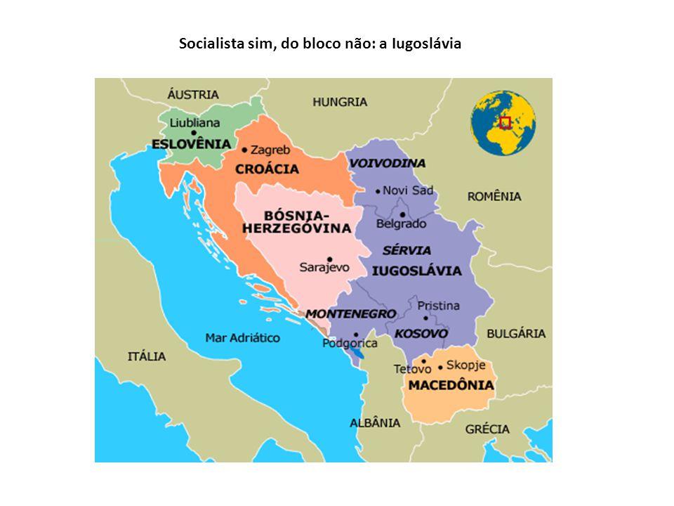 Socialista sim, do bloco não: a Iugoslávia