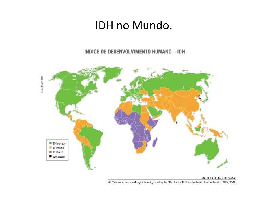 IDH no Mundo.