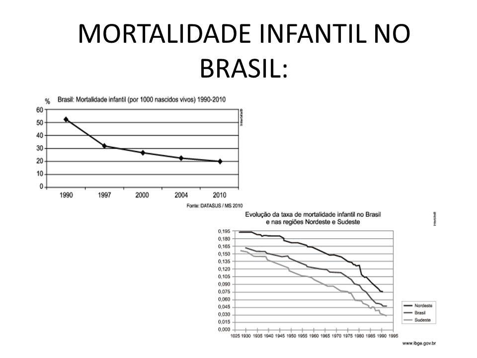 MORTALIDADE INFANTIL NO BRASIL:
