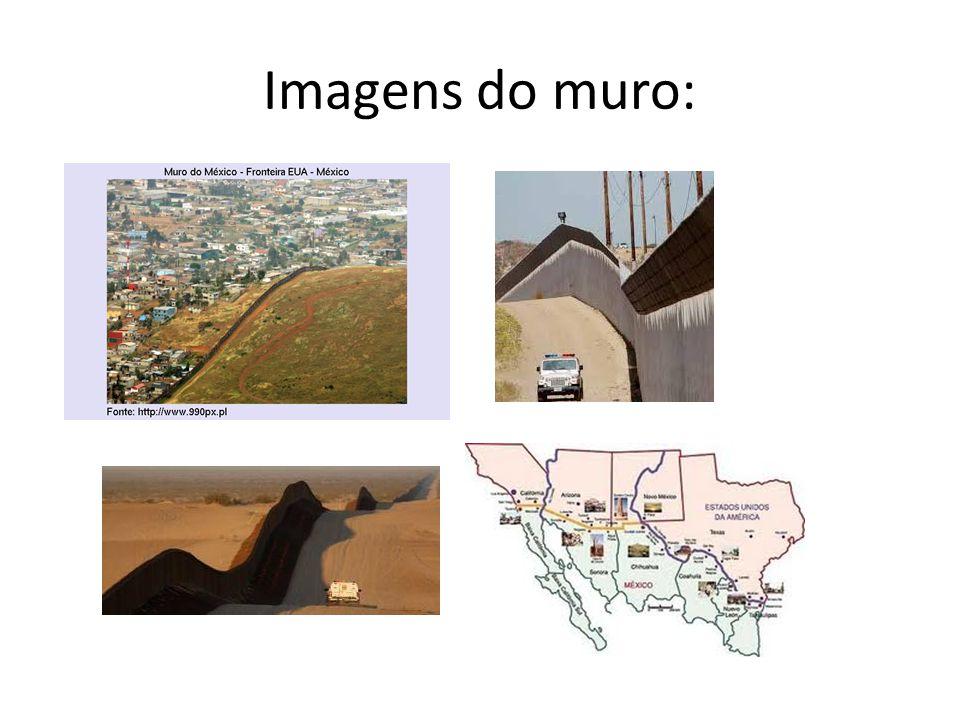 Imagens do muro: